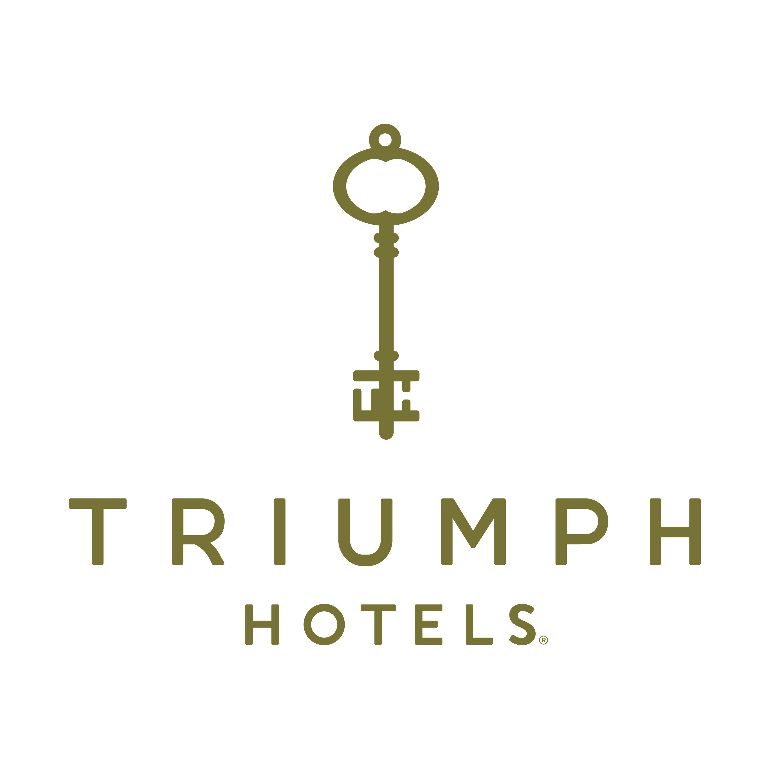 Shimmie Horn's  Triumph Hotels Logo